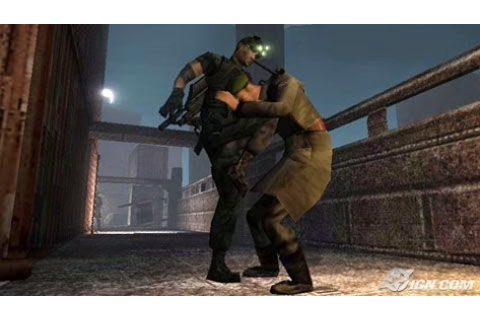 Tom Clancys: Splinter Cell Essentials .cso PPSSPP Android ...