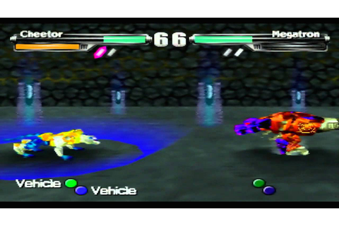 Transformers: Beast Wars Transmetals Game Sample - N64 ...