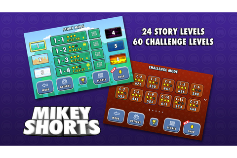 App Shopper: Mikey Shorts (Games)