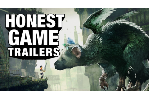 THE LAST GUARDIAN (Honest Game Trailers) - YouTube
