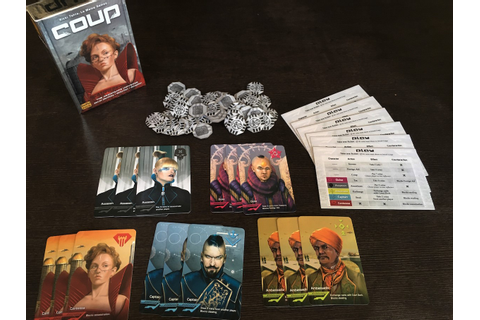 Coup: Game Review