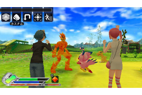 Digimon World 5 Announced For PSP As Re:Digitize
