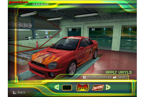 Free Download PC Games SRS: Street Racing Syndicate Full ...