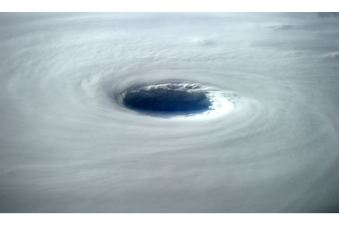 The eye of Super Typhoon Vongfong is 80 km across. Looks ...