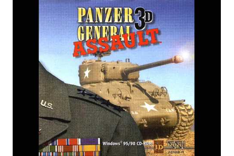 Panzer General 3D Assault OST - German Headquarters - YouTube