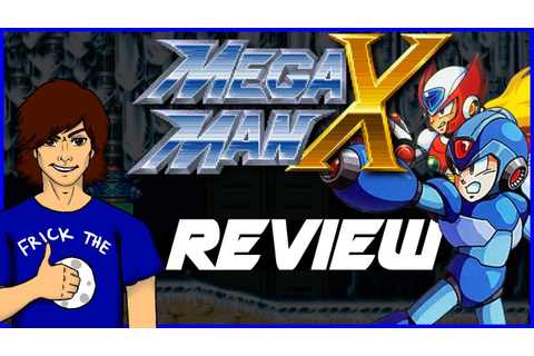 Mega Man X Collection (Game Cube) Review! Part 1 Mega Man ...
