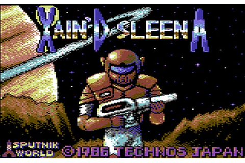 Indie Retro News: Xain'D Sleena - Arcade final release ...