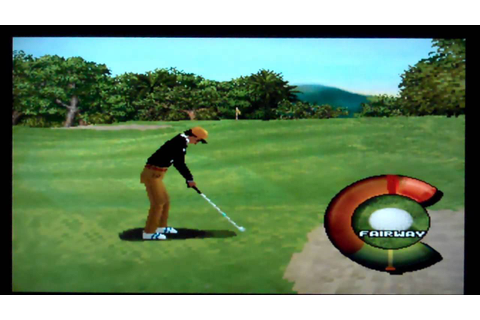 First Impressions - Actua Golf Playstation - YouTube