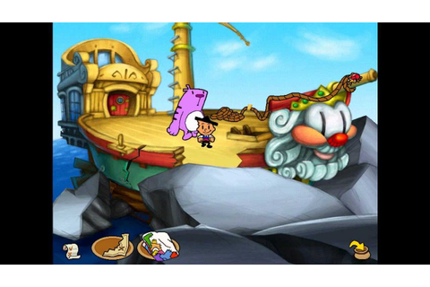 Moop and dreadly the treasure on bing bong island : spamorem