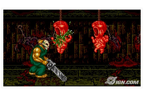 Splatterhouse 2 Review - IGN