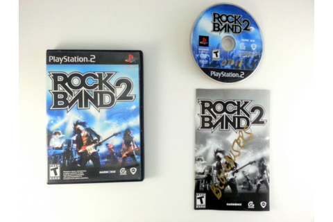 Rock Band 2 (game only) game for Playstation 2 (Complete ...