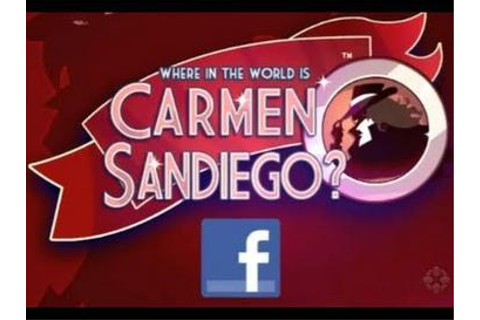 Where in the World Is Carmen Sandiego? (2011 video game ...