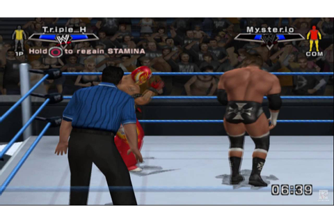 WWE SmackDown vs. Raw 2007 PS2 Gameplay HD - YouTube
