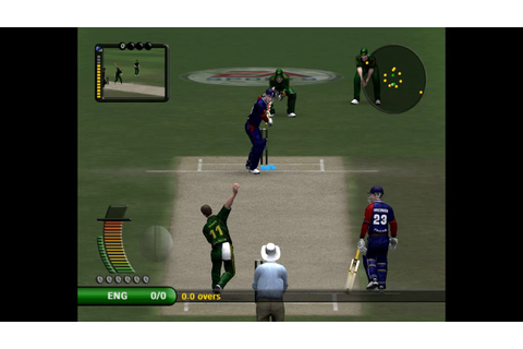 Cricket 07 Gameplay HD - YouTube