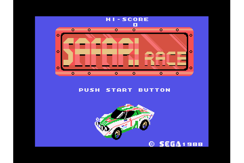 Safari Race | Top 80's Games