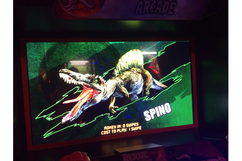 Adventures in Video Games: Jurassic Park (Arcade)