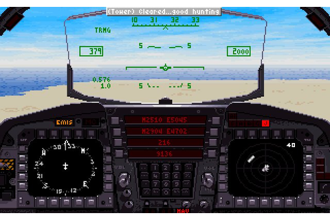 Download F-15 Strike Eagle III vehicle simulation for DOS ...