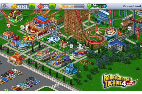 RollerCoaster Tycoon 4 Mobile Download