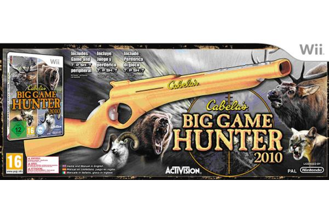 Cabela's Big Game Hunter 2010 (With Gun Accessory ...