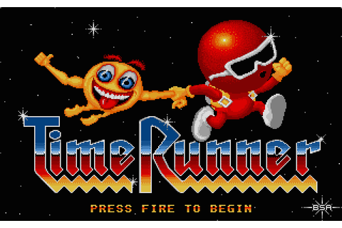Time Runner (1989) by Red Rat Atari ST game