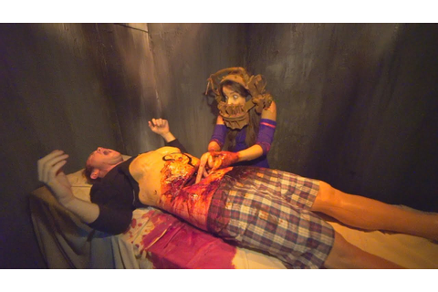SAW: The Games of Jigsaw at Halloween Horror Nights at ...