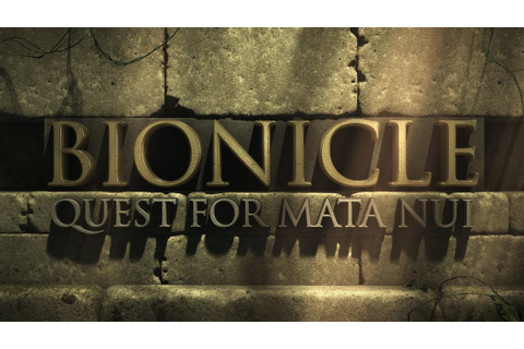 Bionicle: Quest for Mata Nui - Update #3 - Noble Kanohi ...