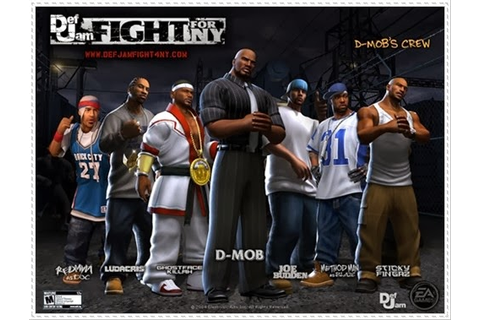 Def Jam Fight For NY PS2 ISO Download | Fully PC Games ...