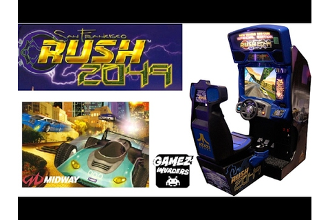 Midway's SAN FRANCISCO RUSH 2049! Arcade Racing Game ...