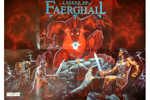 Computer Game Museum Display Case - Legend of Faerghail