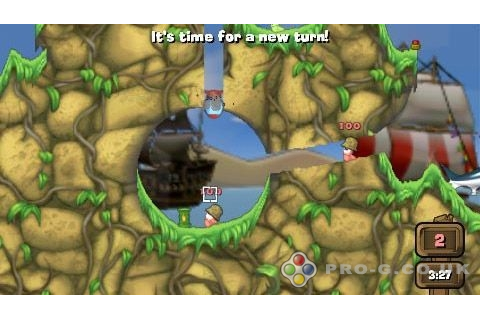 Worms Open Warfare 2 | Download Free PSP Demos