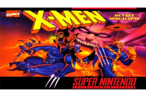 X-Men: Mutant Apocalypse - Super Nintendo - Insert Coin