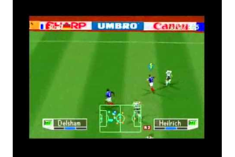 International Superstar Soccer Pro 98 - PSX (Gameplay ...