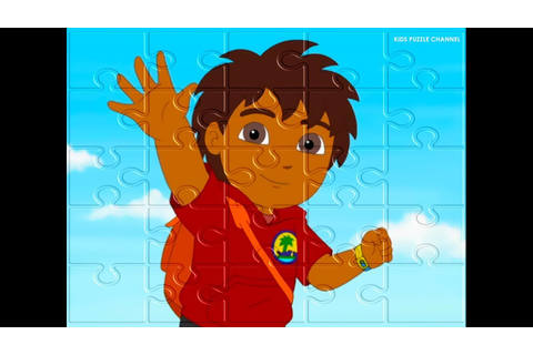 GO, DIEGO, GO! Puzzle Games for Kids! - YouTube