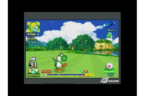 Mario Golf: Advance Tour Game Boy Gameplay_2004_06_08 ...