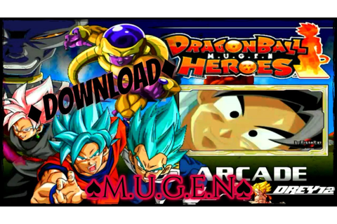 ♦Download♦ SUPER DRAGON BALL HEROES (M.U.G.E.N 1.1) - YouTube