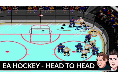 EA Hockey - Retro Ice Hockey Game - SEGA MegaDrive on a ...