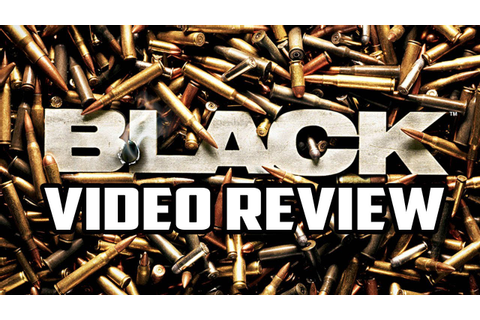Black Playstation 2 Game Review - YouTube