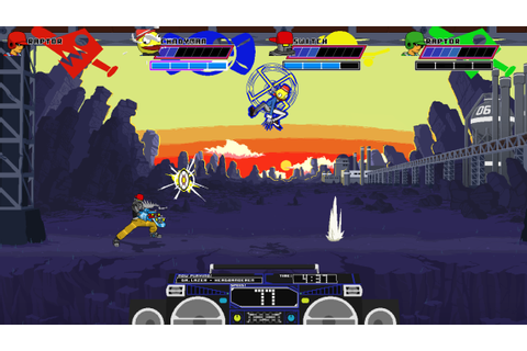 Lethal League is a fighting game about launching a ball ...