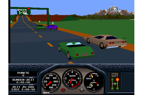 Race Drivin' (cockpit, rev 5) ROM Download for MAME - Rom ...