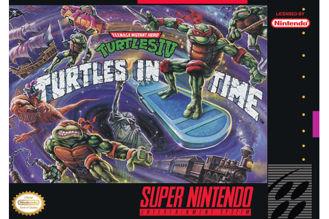 Teenage Mutant Ninja Turtles IV - Turtles in Time ...