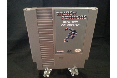 Transformers Mystery of Convoy Nintendo NES English Game