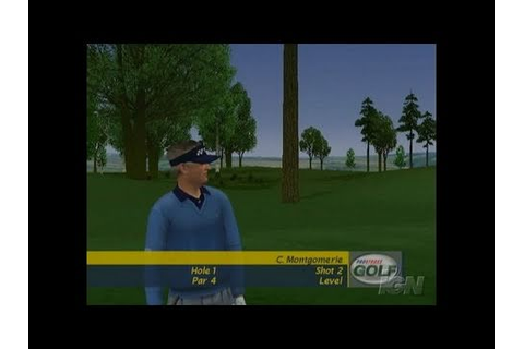 ProStroke Golf: World Tour 2007 Xbox Gameplay - Sergio Vs ...