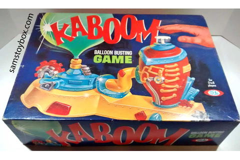 Kaboom by Ideal - Sam's Toybox