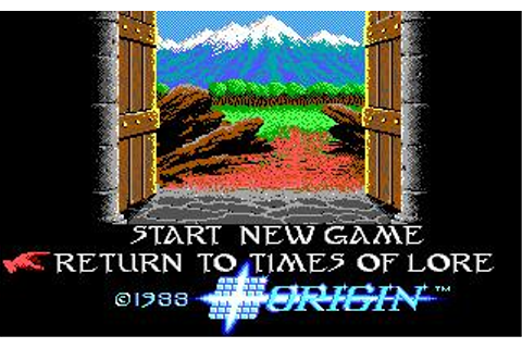 Times of Lore Download (1988 Role playing Game)
