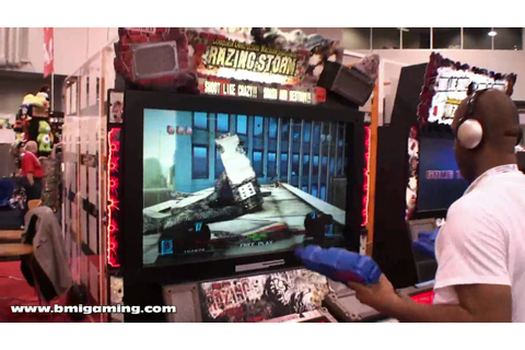Razing Storm Video War Battle Arcade Game - Standard ...