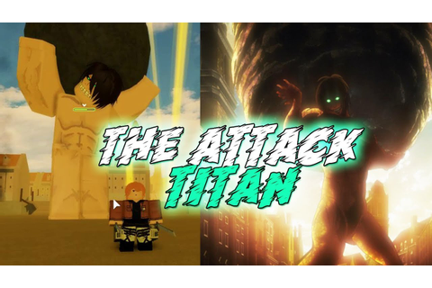 ATTACK TITAN | Attack on Titan: Revenge [BETA] - YouTube