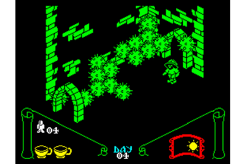 My all time favourite video games: Knight Lore - Sinclair ...