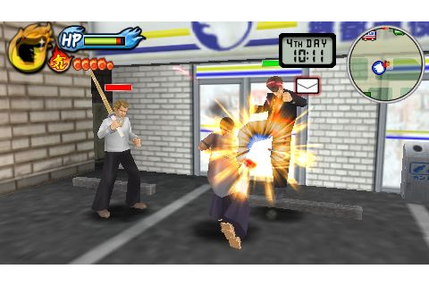 Kenka Bancho: Badass Rumble (PSP) Review - Strictly for ...