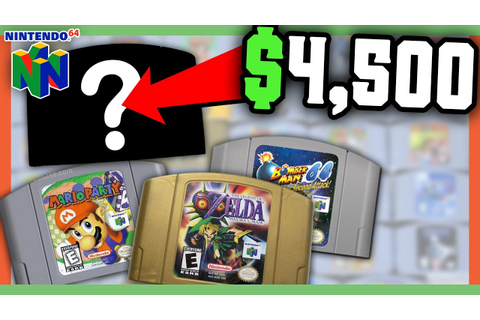 RARE N64 GAMES WORTH MONEY - MOST VALUABLE NINTENDO GAMES ...