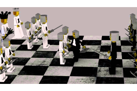 Lego chess game - YouTube
